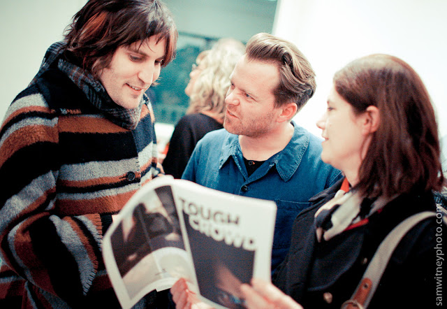 Noel Fielding and Dave Brown - photo by Sam Witney