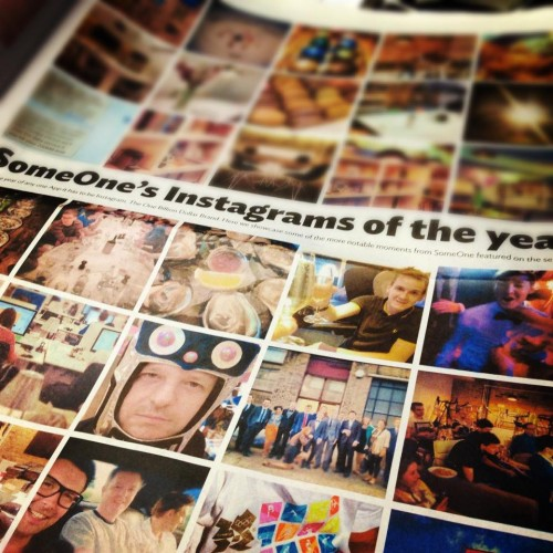 Someone's Broadsheet newspaper - Instagram photos