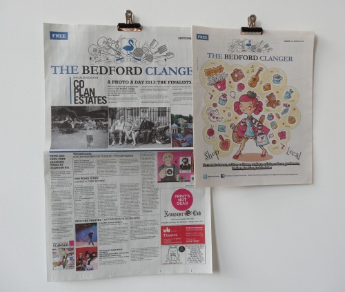 Broadsheet and tabloid Bedford Clangers