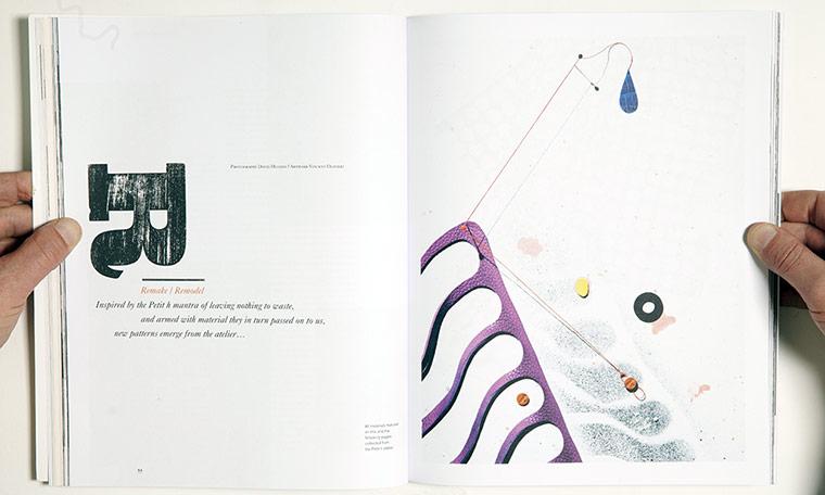 Magazine design Hole & Corner magazine