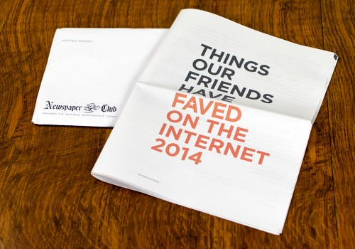 Things Our Friends Have Faved On The Internet 2014