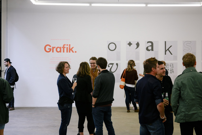 Grafik magazine launch