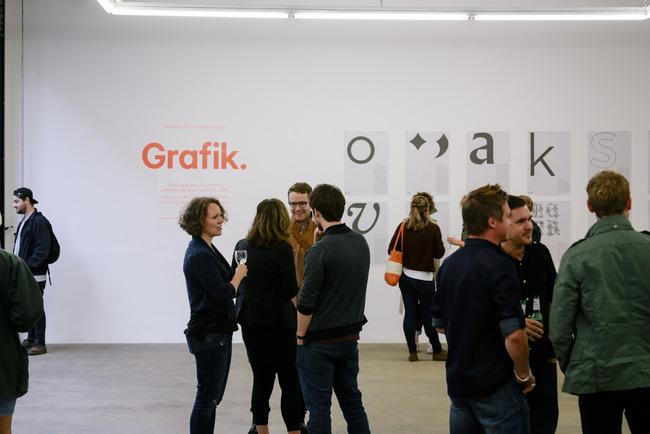 Grafik magazine launch