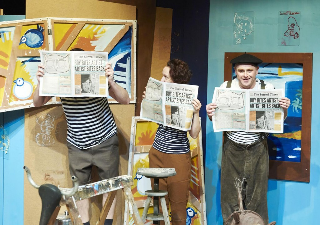 The Boy Who Eat Picasso, Oxford Playhouse. CREDIT Geraint Lewis