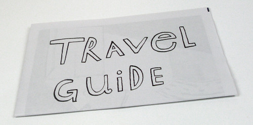 One Day Travel Guide Newspaper by Claudia Castrone of Potpurri Berlin