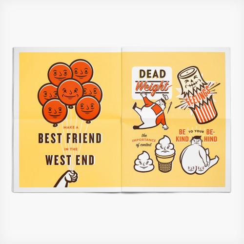 Year in Refuse illustration newspaper by Alex Westgate