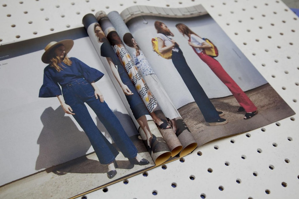 LF Markey fashion catalogue mini newspaper