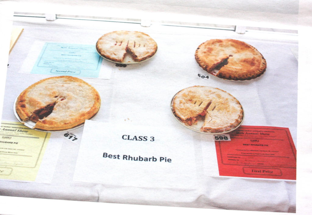 Rhubarb Triangle - Martin Parr exhibition newspaper for Hepworth Wakefield