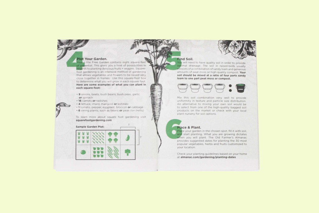 Free Little Garden is a lovely guidebook that gives advice on how owners of a small garden can go about planting their own food. Our Newspaper of the Month winner for March 2016.