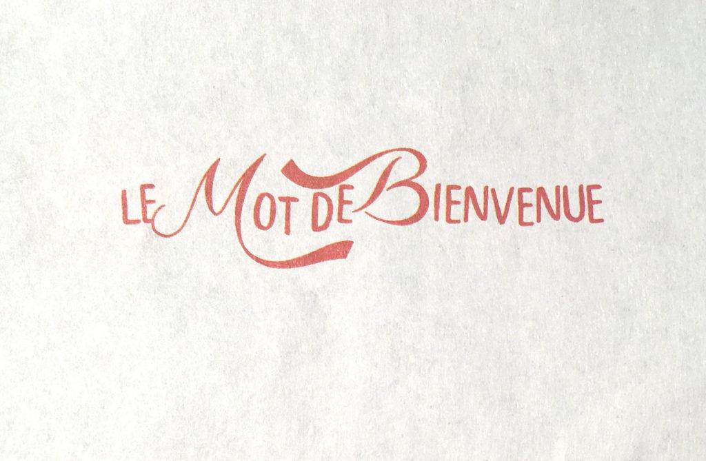 Tournez La Meule traditional mini concert programme