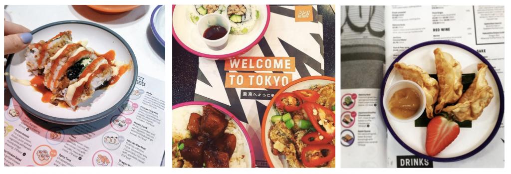 Traditional mini newspaper menu for YO! Sushi designed by &Smith