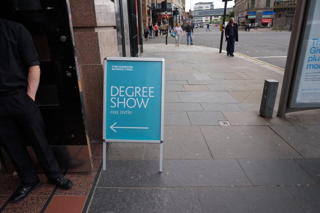Glasgow School of Art Degree Show 2016
