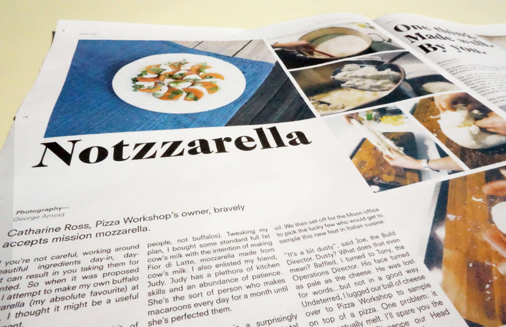 Pizza Workshop Post traditional tabloid newspaper