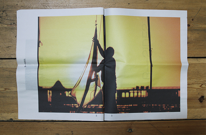 B-Sides digital tabloid explores the visual language of Brighton through the eyes of graphic designer Ian Caulkett