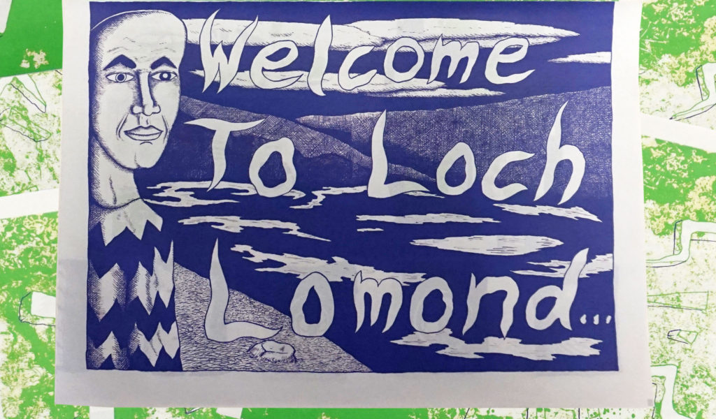 Issue 3 of Damp Squib by Glasgow School of Art Comix Club