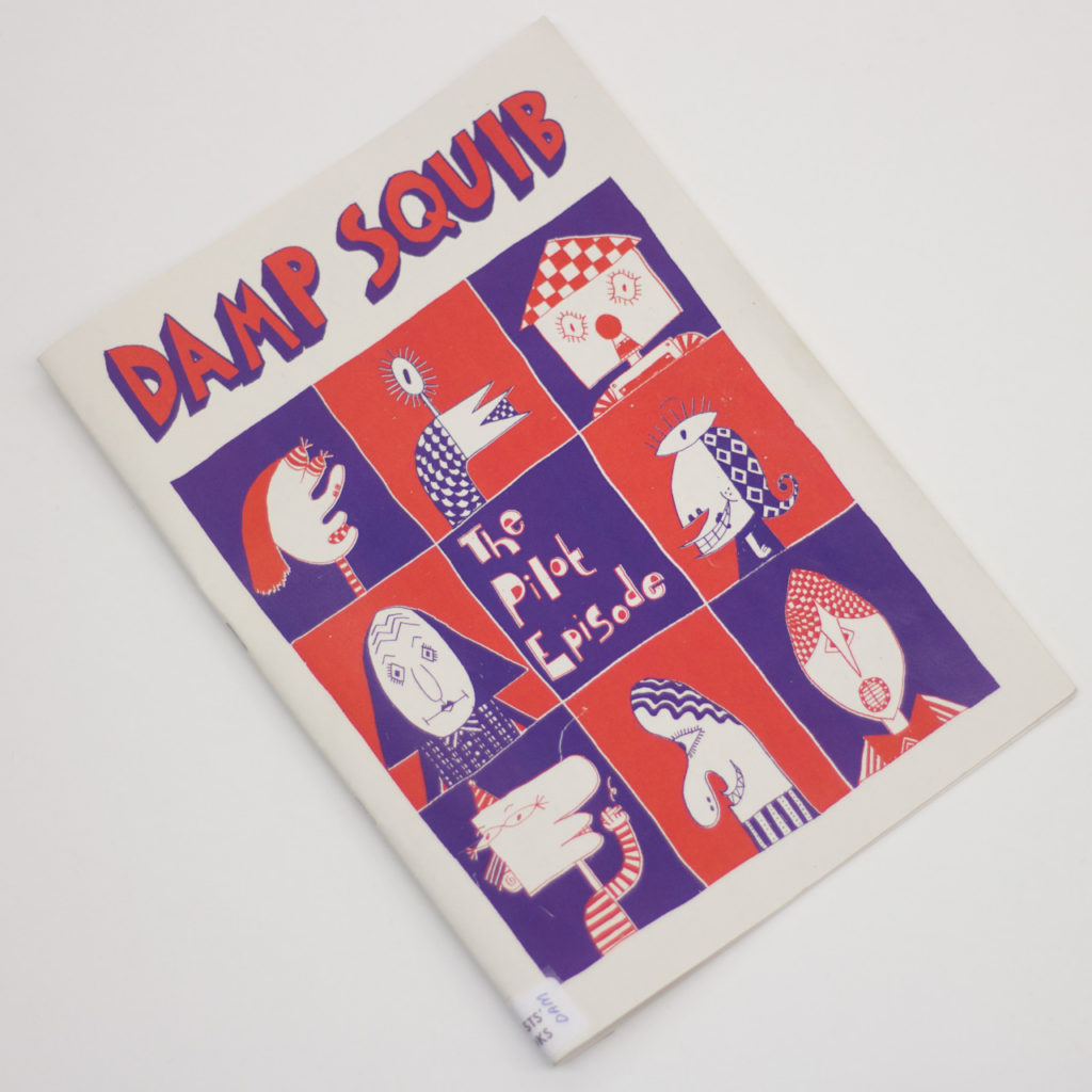 Issue 1 of Damp Squib by GSA Comix Club