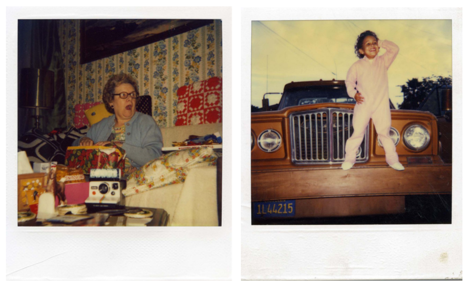 Found Polaroids by Kyler Zeleny