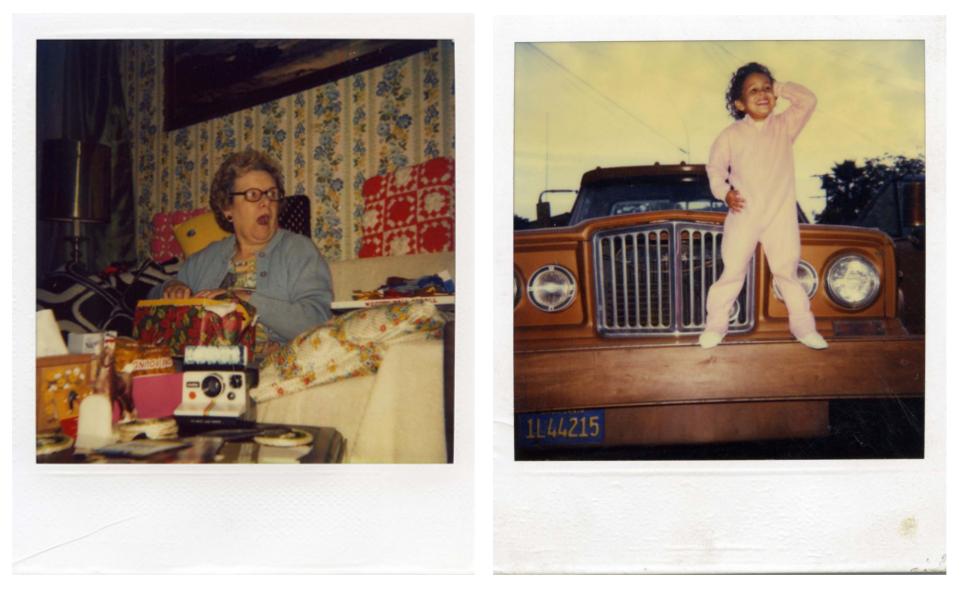 Found Polaroids by Kyler Zeleny
