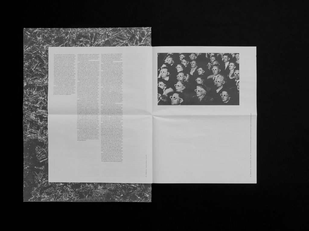 Manifesta't graphic design newspaper exploring Guy Debord and randomness. Printed by Newspaper Club.