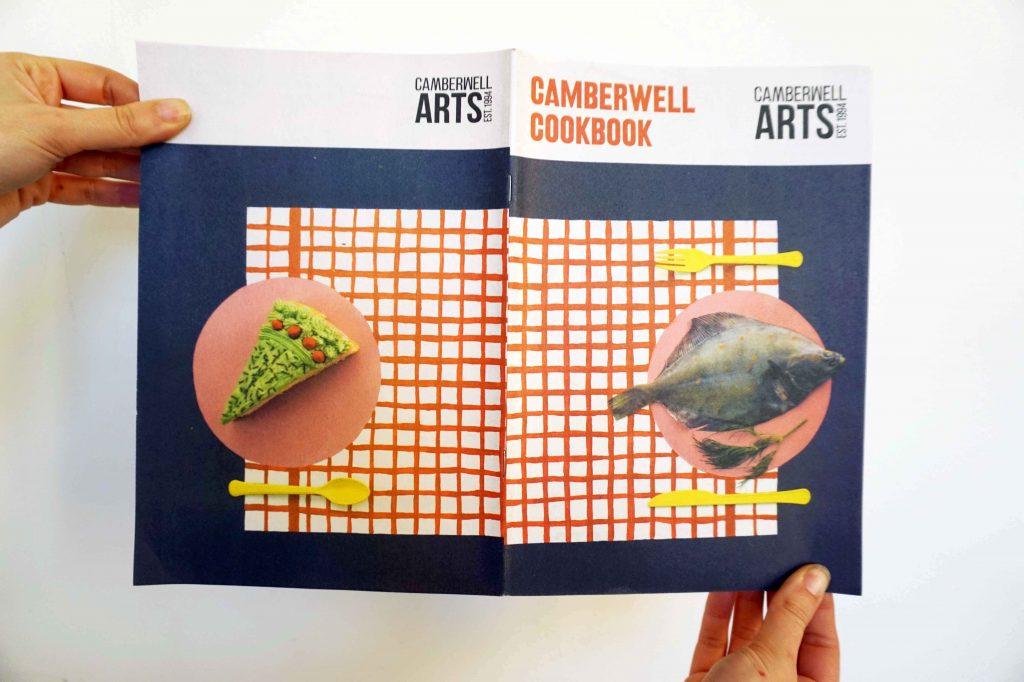 Camberwell Cookbook newspaper. Printed by Newspaper Club.