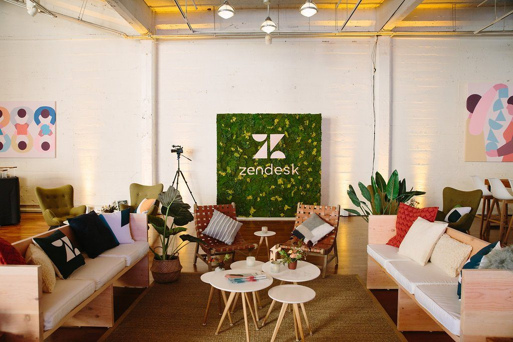 Zendesk Rebrand Launch Event