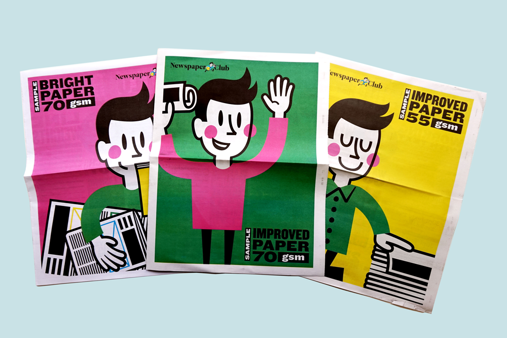 Colour charts, typography tips, inspiring examples – our sample newspapers have everything you need to get the best results in print.
