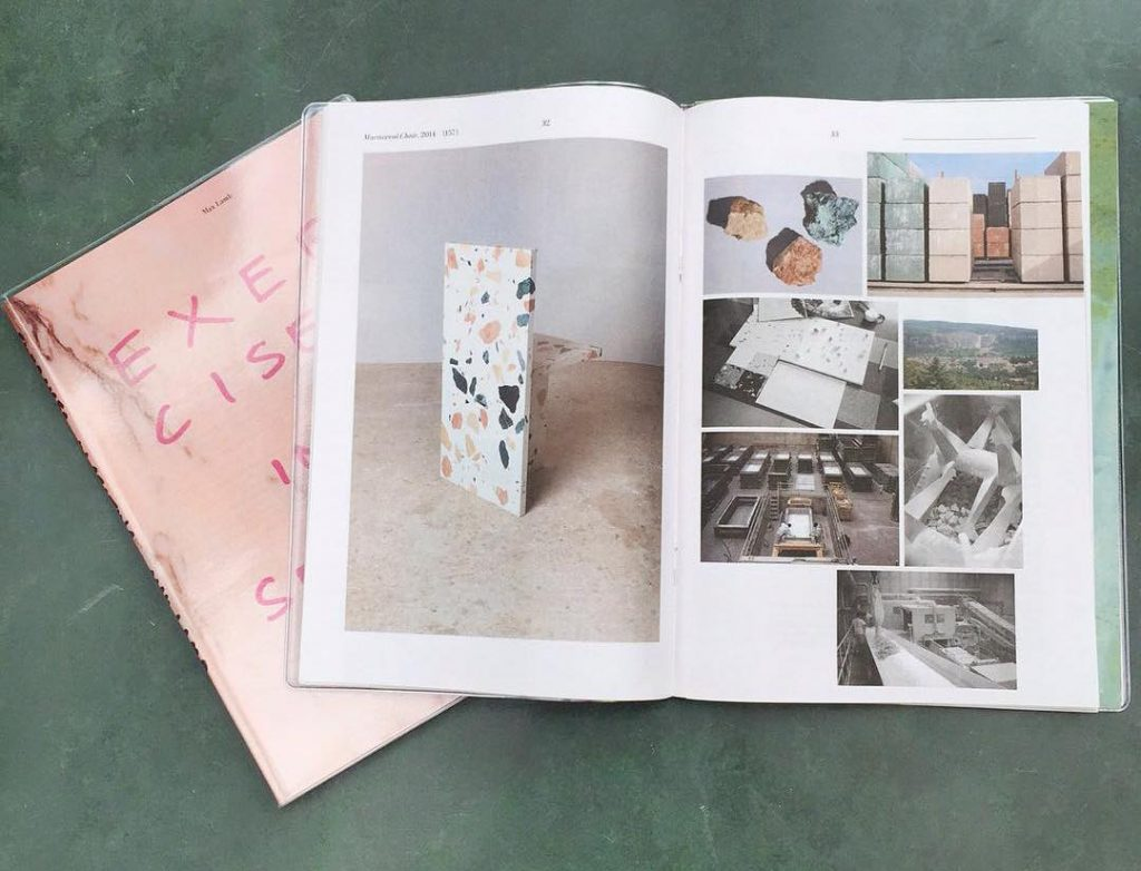 Newspaper Club Gift Guide: Exercises in Seating by Max Lamb. Published by Dent De Leon and printed by Newspaper Club.