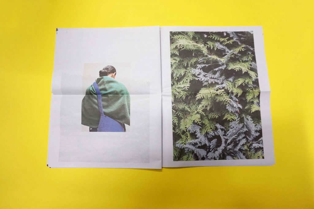 Cecilie Telle A/W 2016 lookbook newspaper by Ruby Woodhouse. Printed by Newspaper Club.