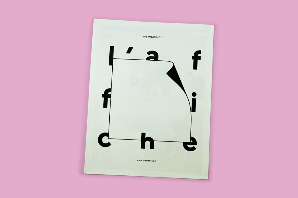 L'Affiche newspaper by Atelier Inconnu. Printed by Newspaper Club www.newspaperclub.com