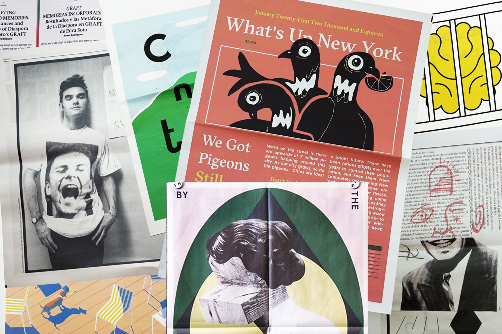 Newspaper Club print roundup: February. Make your own newspaper at www.newspaperclub.com