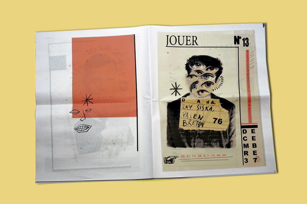 Inspired by artists Hannah Hoch and Kurt Schwitters, student Joshua Harrison produced a Dada style publication under the guise of fictional artist Pavel Siska. His newspaper evokes the era by blending sensitive collage work with striking imagery and lillustration, and it was one of our favourite artist newspapers this month. See more from our February roundup at www.newspaperclub.com/blog