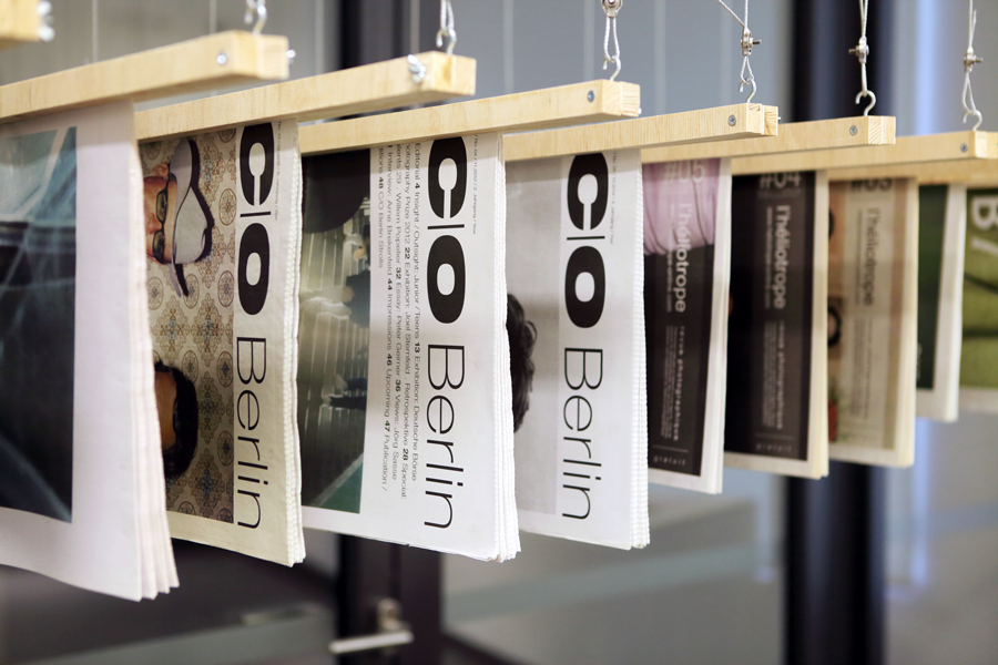 Newsprint Photobook exhibition at Buchlabor, University of Applied Sciences in Dortmund