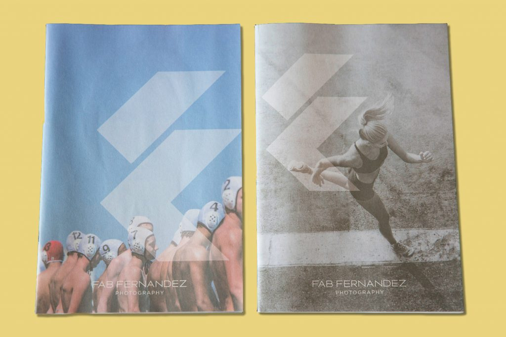 Photography newsprint promo by sports photographer Fab Fernandez. Print your own newspaper with Newspaper Club.