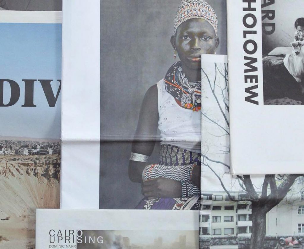 Newsprint Photobook archive by Felix Koltermann