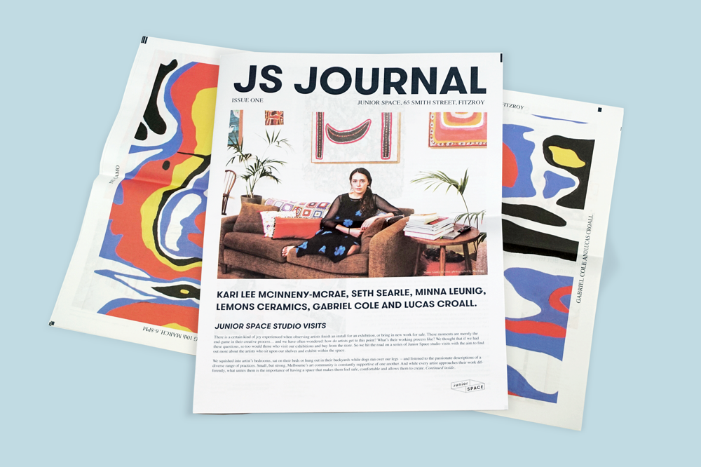 JS Journal newspaper for Junior Space. Print your own newspaper with Newspaper Club.