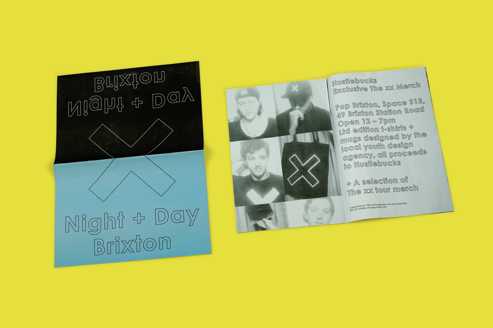 Night + Day Brixton newspaper for The XX. Print your own newspaper with Newspaper Club.