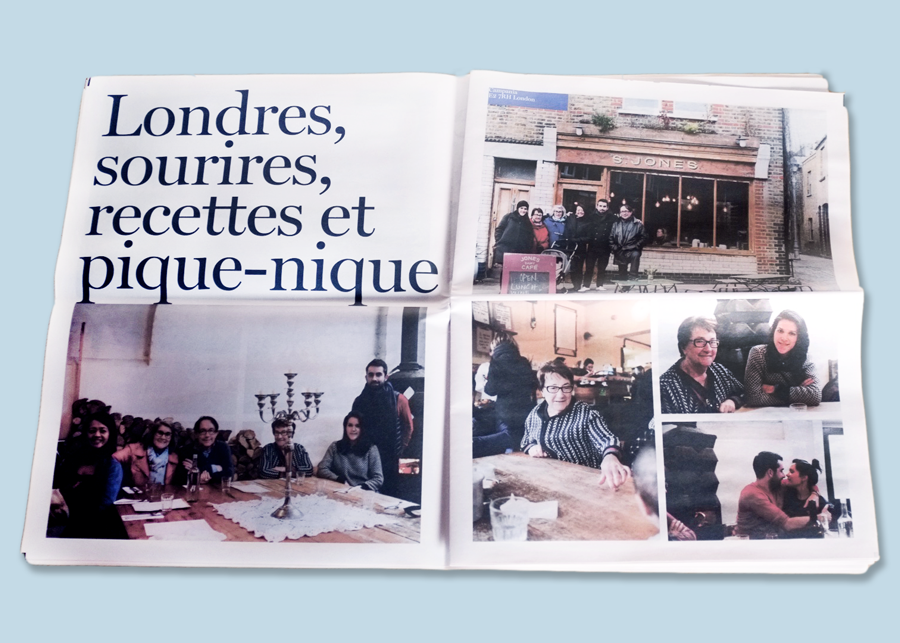 How Pierre-Antoine Arlot created a family tradition with newsprint. Printed by Newspaper Club.