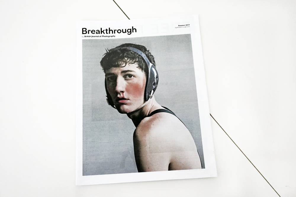 Breakthrough Awards 2017 newspaper with cover photography by Ryan James Caruthers