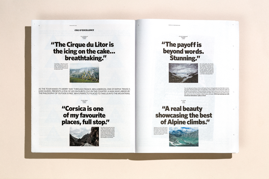 Embracing the climb with Rapha: an interview with Rapha creatives Harry Dowdney and Eve Izaak about #RaphaRising newspaper