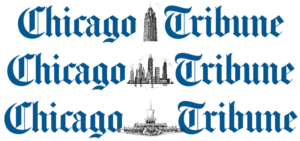 Chicago Tribune illustrated masthead