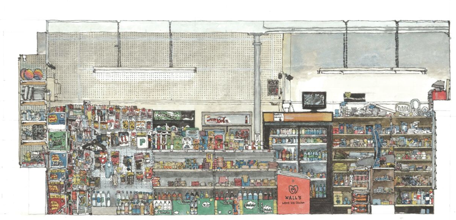 Glasgow-Newsagents-Illustration-Will-Knight
