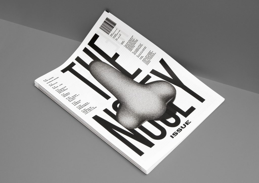 The Nosey Issue is a follow-up to a newspaper graphic designer Johanne Lian Olsen printed with us last year, The Eye of the Beholder, a publication all about eyes. This new issue focuses on noses, in all their forms.