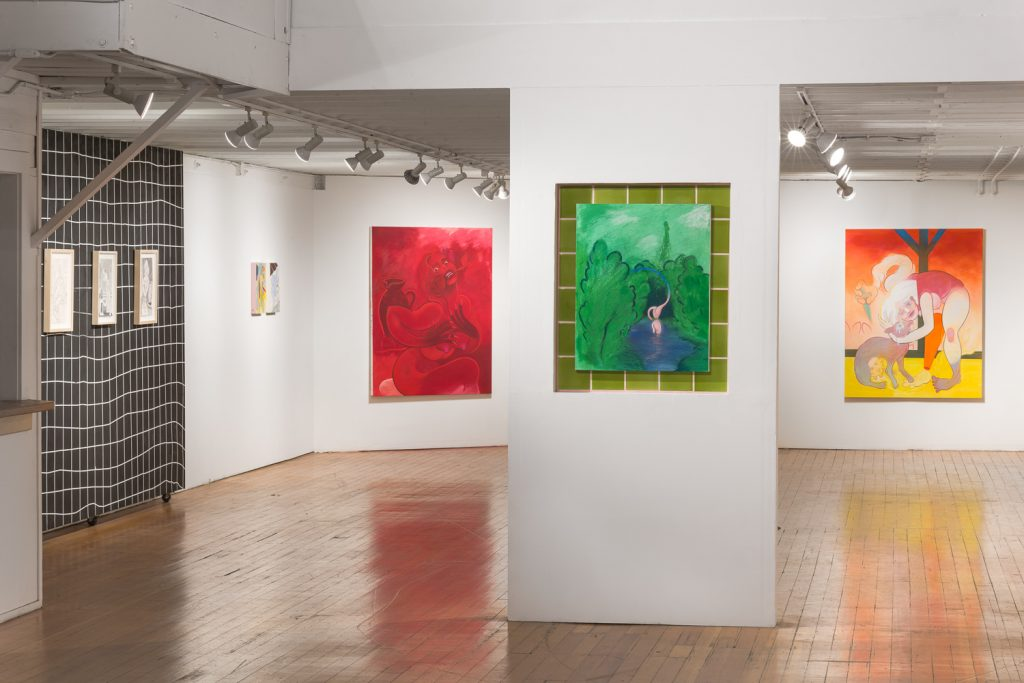 Koak Bathers exhibition at Alter Space in San Francisco