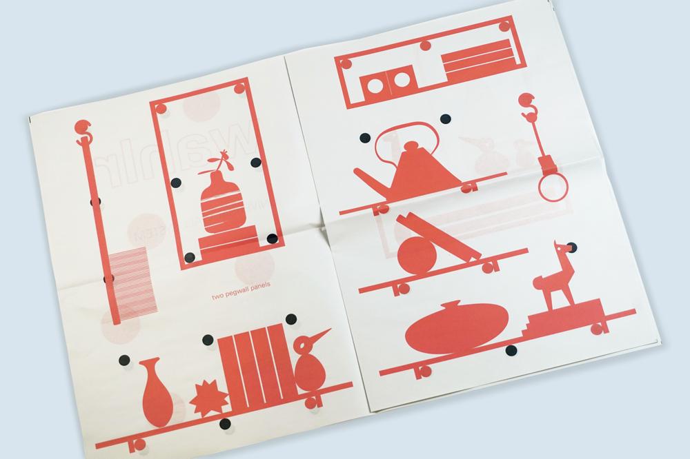 Wahlr newsprint catalogue printed by Newspaper Club
