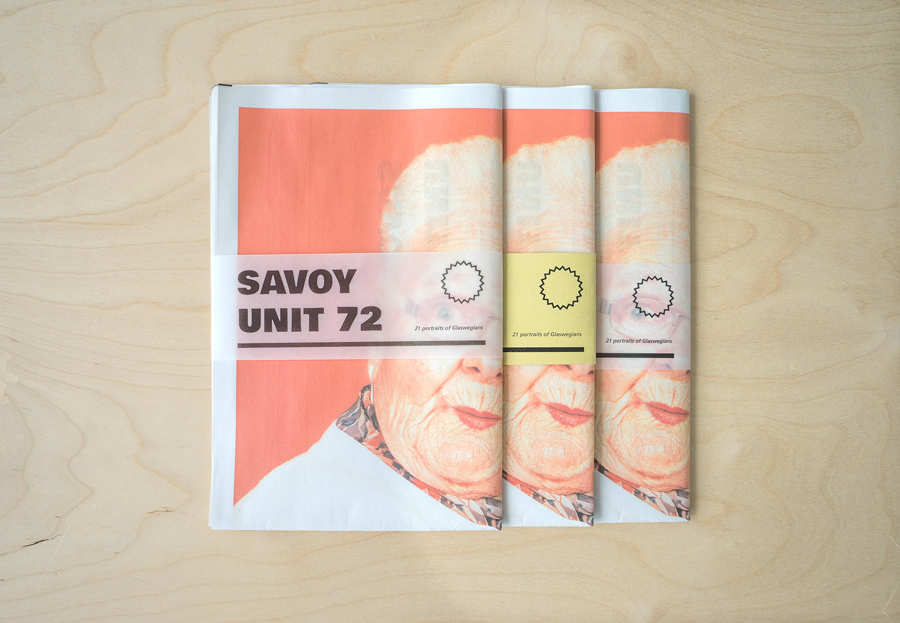 Savoy Times photography promo newspaper printed by Newspaper Club