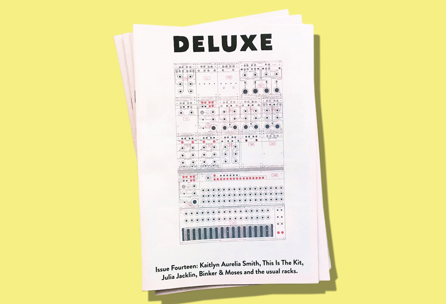Deluxe: Drift Record Shop newspaper. Printed by Newspaper Club.