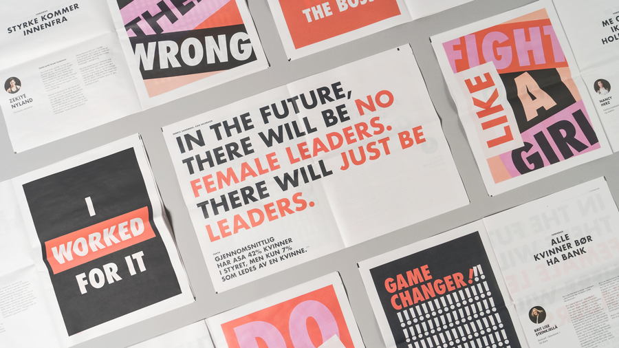 How Larssen & Amaral takes risks with bold design. Print your own newspaper with Newspaper Club.