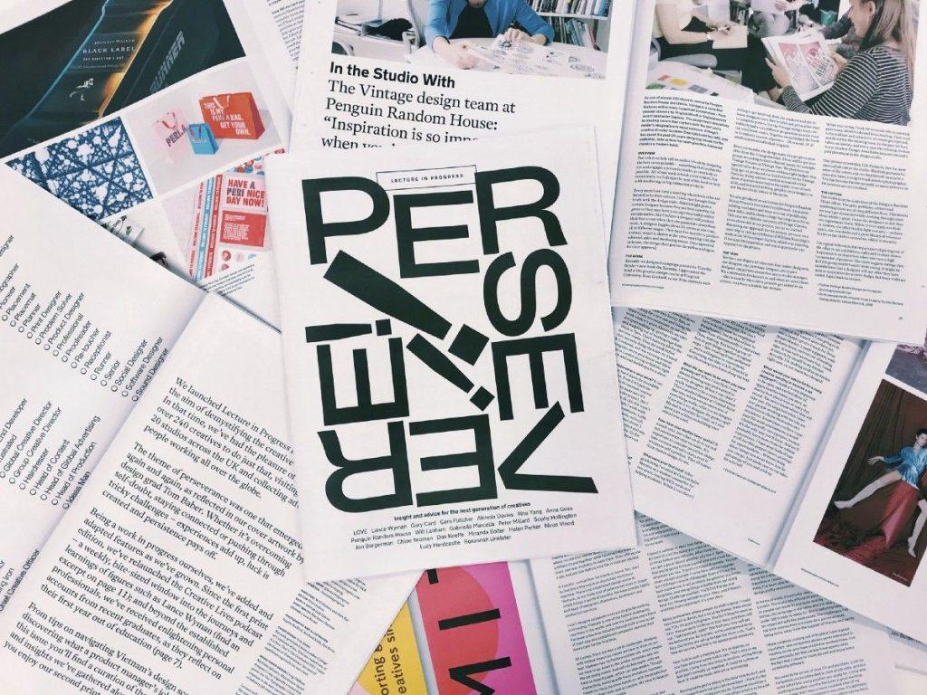 Lecture in Progress newspaper