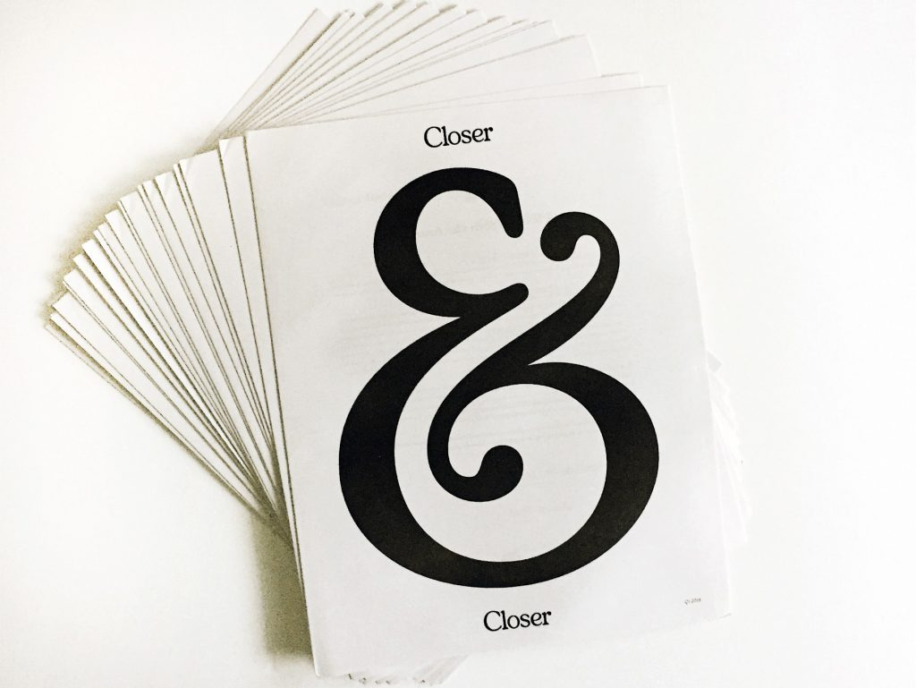"Closer&Closer, a New Orleans-based design and illustration agency, celebrated their first anniversary by launching a quarterly publication to promote work from the artists – 10 so far – that they represent. ""As we've expanded our roster, I saw the value in having physical samples of each artists' work,"" says founder Drew Melton. ""Newspapers are lightweight, affordable to ship and the print quality was great."" Printed by Newspaper Club."