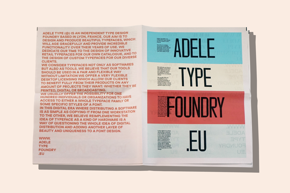 Interview with Adele Type founder, Matthieu Salvaggio